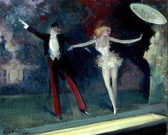 Curtain Call, Everett Shinn - 1925