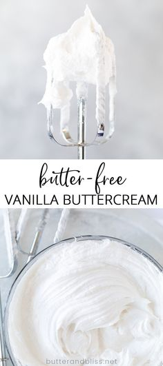 Creamy frosting with the right amount of sweetness made with coconut cream, coconut oil and rich vanilla. Dairy Free Vanilla Frosting, Coconut Milk Frosting, Vegan Buttercream Frosting, Vanilla Frosting Recipes, Cake Frosting Recipe, Cake Recipe Using Coconut Oil, Butter Free Cake Recipe, Coconut Butter Recipes, Vegan Coconut Cake