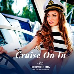 Cruise on in for our Steamy Summer SALE during our June 2016 promotion. Ask your Hollywood Tans' Sales Associate for more details.