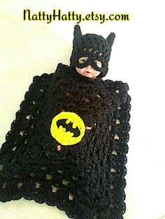 Check out this item in my Etsy shop https://www.etsy.com/listing/240657104/batman-baby-handmade-crochet-set-hat-and