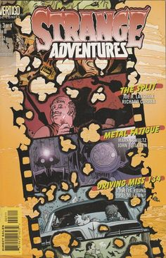 Strange Adventures # 3 Vertigo Imprint of DC Comics