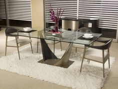 Elite Triston Dining Set  Join Contemporary Lifestyles this Labor Day weekend for our semi annual sale. Save 15% - 35% off Elite Modern products.