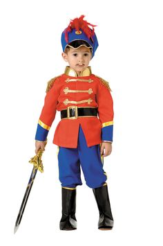 traje de soldadito de plomo soldado