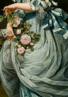 By Adolf Ulrik Wertmuller - Daughter of Queen Marie Antoinette - detail