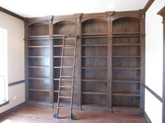 Rolling Library Ladders - storage and organization - by CS Hardware