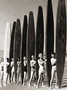 Vintage Surf // surfboards, surfing, squad goals, California, lifestyle, car, old school, vintage, throwback