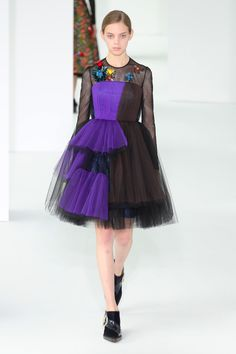 NEW YORK, NY - FEBRUARY 15:  A model walks the runway at Delpozo during New York Fashion Week at Pier 59 Studios on February 15, 2017 in New York City.  (Photo by Antonio de Moraes Barros Filho/WireImage) via @AOL_Lifestyle Read more: https://www.aol.com/article/lifestyle/2017/02/16/nyfw-delpozo-fall-2017/21715765/?a_dgi=aolshare_pinterest#fullscreen