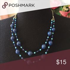 Blue necklace Very pretty blue necklace Jewelry Necklaces