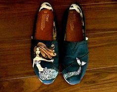 Custom Mermaid TOMS by TrendyTOMS on Etsy, $80.00 Yes!!!! And these!!!