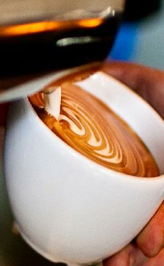 This is what a true #cappuccino or #macchiato should be prepared