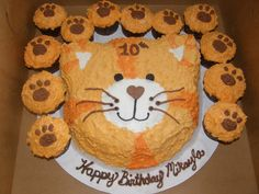 Cat Cake Cat Birthday Cake 1 Pasta Cenneti Pinterest