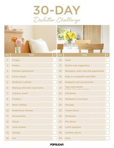 30-Day Declutter Challenge | POPSUGAR Smart Living