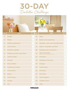 30-Day Declutter Challenge | POPSUGAR Smart Living