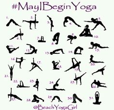 May 1st Yoga Challenge for beginners. Here you go!
