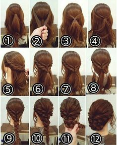 12 Amazing Updo Ideas for Women with Short Hair Best Hairstyle Ideas is part of Braided hairstyles - Check out these 12 amazing and gorgeous hair updo ideas for women with short hair Hair updo Ideas Updo for short hair easy updo Medium Hair Styles, Curly Hair Styles, Hair Medium, Fancy Hairstyles, Bouffant Hairstyles, Asian Hairstyles, Hairstyle Ideas, Hairstyle Short, Updo For Long Hair