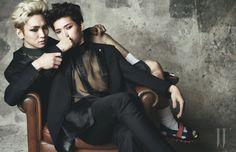 2014.04, W, Toheart, SHINee, Key, Infinite, Woohyun