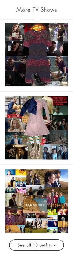 """""""More TV Shows"""" by tvshowobsessed ❤ liked on Polyvore featuring shakeitup, Merlin, TVshows, Twobrokegirls, janethevirgin, Piet Hein Eek, Sandro, Yves Saint Laurent, York Wallcoverings and Converse"""