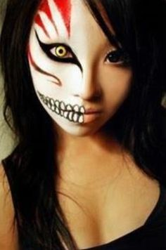 cool makeup | me # makeup # horrror makeup # halloween