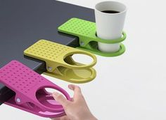 Clip On Table Cup Holders