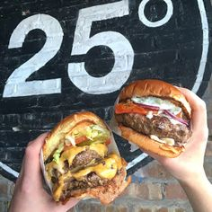 Recent Foodie Finds including 25 Degrees burgers in Wicker Park!