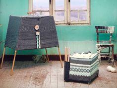 Knit mobile cabinets. Beril Çiçek
