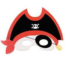 Pirate Day, Pirate Birthday, Pirate Theme, Pirate Crafts, Crafts For Kids, Diy Crafts, Carnival Masks, Tinkerbell, Photo Booth Props