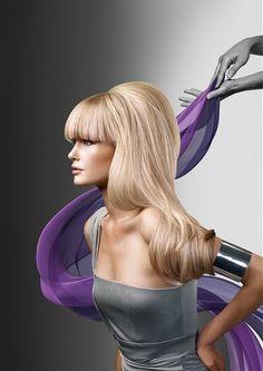 Love Hair, Gorgeous Hair, Amazing Hair, Straight Hairstyles, Cool Hairstyles, Blonde Hairstyles, Hair Rainbow, Rock Your Hair, Lange Blonde