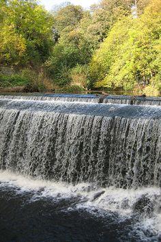 Weir near Dean Village - Edinburgh, Scotland Dean Village Edinburgh, Edinburgh Scotland, Waterfalls, Niagara Falls, The Good Place, Earth, Places, Nature, Travel