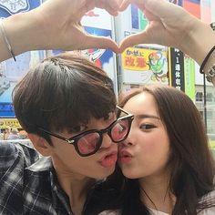 Couple asian ❤ ulzzang