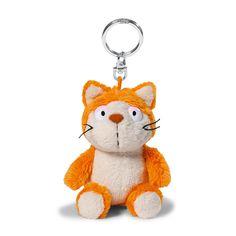 Schlüsselanhänger Comic Cats Katze Hungry