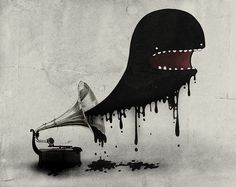 Music will eat you!