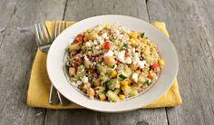 Fresh Summer Quinoa Salad from Hungry Couple | Super Summer Salads | MoneywiseMoms