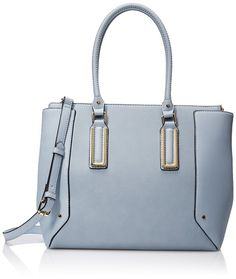 Aldo Ballwin Tote Shoulder HandBag | Shoulder Bags---Colors Available: Light Blue, Black, Bone and Came---l 100% Polyurethane--- Imported--- 100% Polyester lining--- Zipper closure--- Beautiful,Elegant,Simple and Cute Shoulder Handbags suitable for wedding,casual and party for Summer/Spring of 2016--- Suitable for Travel or Casual Wear---  Essentials---