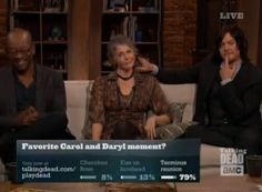 Talking Dead with Norman Reedus and Melissa McBride