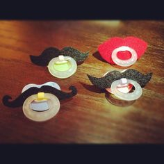Moustache dummies by BabyHipsters, awesome! :)