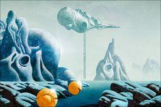 Dan McPharlin's Sci Fi Illustrations Of Past FUtures
