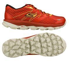 74c140459157 Skechers GO run Ultra. ORANGE SKECHER SHOES.  SKECHERSGiveThanksPinToWin  Ultra Running Shoes