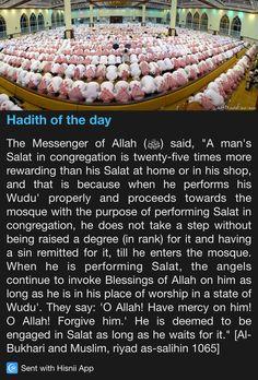Hadith of the day Islam Beliefs, Islam Hadith, Islamic Teachings, Islam Religion, Islam Quran, Islamic Quotes, Prophet Muhammad Quotes, Hadith Quotes, Quran Quotes