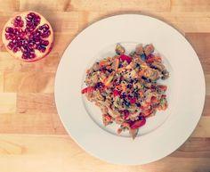 Estofado de seitán con verduras