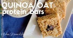 Quinoa oat protein bars make a homemade gluten-free snack bar fit for a runner, hungry child, or even as lactation support for a nursing mother!