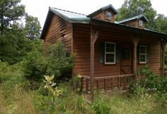 FOR SALE:  Amish Built Cabin and 27 Acres of Beautiful Missouri Forest Land ~ $59 995