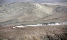 Part of the 2013 Dakar rally route between Nazca and Arequipa, Peru [Photo: Franck Fife/AFP/Getty Images]
