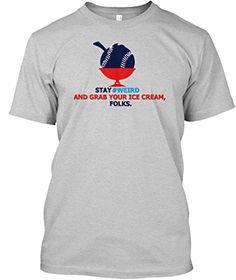 Teespring Unisex Stay Weird Weirdbaseball Baseball Tshirt... https://www.amazon.com/dp/B072KY76RD/ref=cm_sw_r_pi_dp_x_YzB.yb3AZGVZF