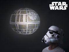 Star Wars lampskärm, Episkt cool dödsstjärnan lampa! CoolStuff.se
