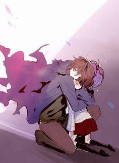 Anime couple IB X GARRY