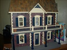 Georgetown dollhouse from Real Good Toys kit.