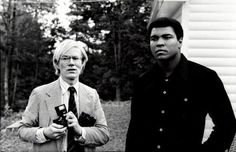 Andy Warhol, Mohammed Ali