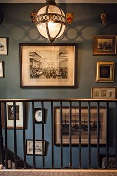 Discover ideas for displaying art on HOUSE - design, food and travel by House & Garden. Dark paint makes an excellent base for art.