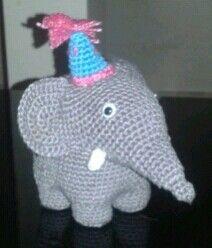 19. #Elefante #amigurumi