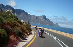 Take an exclusive motorcycle ride along Chapmans Peak, Cape Town Hiking Photography, Off Road Adventure, Table Mountain, Local Attractions, Cape Town, South Africa, Harley Davidson, Safari, Places To Go
